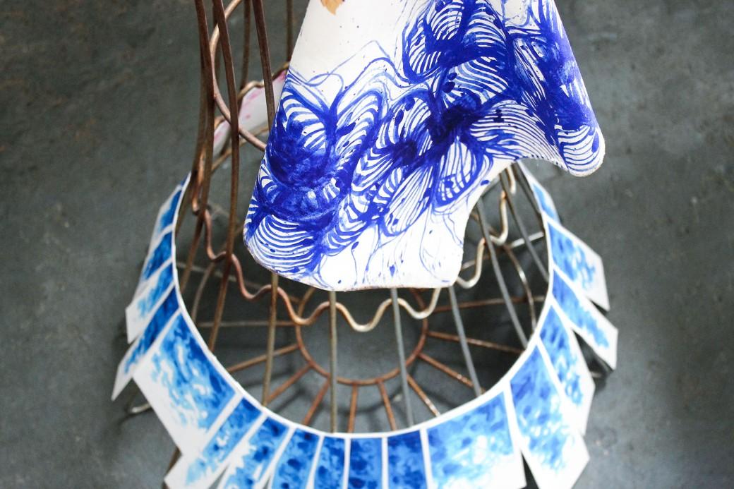 Piccolo dispositivo tessile per la decolorazione di falda acquifera 10