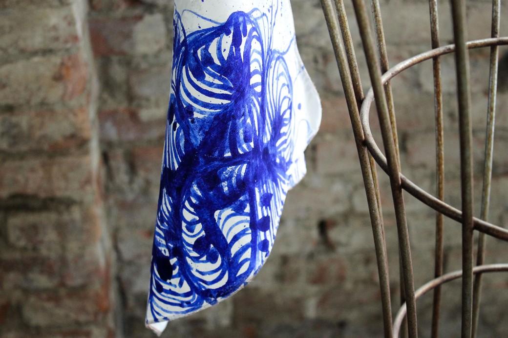 Piccolo dispositivo tessile per la decolorazione di falda acquifera 11